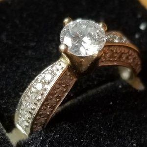Jewelry - .54 ct center diamond 14kt white gold